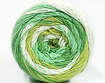 Fiber Content 100% Cotton, Brand Ice Yarns, Green Shades, Yarn Thickness 3 Light  DK, Light, Worsted, fnt2-50558