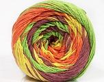 Fiber Content 100% Cotton, Yellow, Orange, Maroon, Brand Ice Yarns, Green, Yarn Thickness 3 Light  DK, Light, Worsted, fnt2-50565