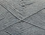 Fiber Content 100% Cotton, Brand Ice Yarns, Grey, Yarn Thickness 2 Fine  Sport, Baby, fnt2-50587