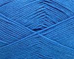 Fiber Content 100% Cotton, Brand Ice Yarns, Blue, Yarn Thickness 2 Fine  Sport, Baby, fnt2-50589