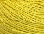 Fiber Content 60% Bamboo, 40% Cotton, Yellow, Brand ICE, Yarn Thickness 3 Light  DK, Light, Worsted, fnt2-50668