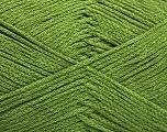 Fiber Content 100% Cotton, Brand ICE, Green, Yarn Thickness 2 Fine  Sport, Baby, fnt2-50697