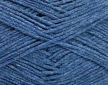 Fiber Content 100% Cotton, Jeans Blue, Brand ICE, Yarn Thickness 2 Fine  Sport, Baby, fnt2-50698