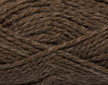 Fiber Content 60% Acrylic, 40% Alpaca, Brand Ice Yarns, Brown, fnt2-50761