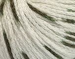 Fiber Content 100% Acrylic, White, Khaki, Brand ICE, Yarn Thickness 3 Light  DK, Light, Worsted, fnt2-50801