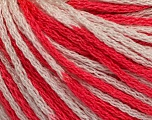 Fiber Content 100% Acrylic, White, Brand ICE, Candy Pink, Yarn Thickness 3 Light  DK, Light, Worsted, fnt2-50814