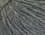 Fiber Content 70% Acrylic, 30% Wool, Brand Ice Yarns, Grey Melange, Yarn Thickness 4 Medium  Worsted, Afghan, Aran, fnt2-50851