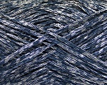 Fiber Content 60% Polyamide, 40% Acrylic, Silver, Navy, Brand Ice Yarns, fnt2-50880