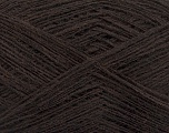 Fiber Content 50% Acrylic, 50% Wool, Brand Ice Yarns, Coffee Brown, Yarn Thickness 2 Fine  Sport, Baby, fnt2-50899