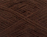 Fiber Content 50% Acrylic, 50% Wool, Brand ICE, Brown, Yarn Thickness 2 Fine  Sport, Baby, fnt2-50900