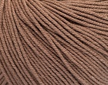 Fiber Content 60% Cotton, 40% Acrylic, Brand Ice Yarns, Camel, Yarn Thickness 2 Fine  Sport, Baby, fnt2-51205