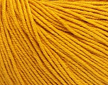 Fiber Content 60% Cotton, 40% Acrylic, Brand Ice Yarns, Gold, Yarn Thickness 2 Fine  Sport, Baby, fnt2-51207