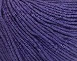 Fiber Content 60% Cotton, 40% Acrylic, Purple, Brand ICE, Yarn Thickness 2 Fine  Sport, Baby, fnt2-51212