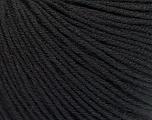 Fiber Content 60% Cotton, 40% Acrylic, Brand Ice Yarns, Black, Yarn Thickness 2 Fine  Sport, Baby, fnt2-51214