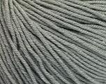 Fiber Content 60% Cotton, 40% Acrylic, Brand Ice Yarns, Grey, Yarn Thickness 2 Fine  Sport, Baby, fnt2-51215