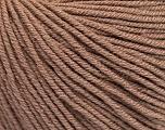 Fiber Content 60% Cotton, 40% Acrylic, Brand Ice Yarns, Camel, Yarn Thickness 2 Fine  Sport, Baby, fnt2-51217