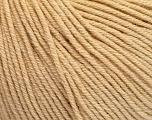 Fiber Content 60% Cotton, 40% Acrylic, Brand Ice Yarns, Dark Cream, Yarn Thickness 2 Fine  Sport, Baby, fnt2-51220