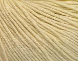 Fiber Content 60% Cotton, 40% Acrylic, Brand Ice Yarns, Cream, Yarn Thickness 2 Fine  Sport, Baby, fnt2-51221