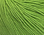 Fiber Content 60% Cotton, 40% Acrylic, Brand Ice Yarns, Green, Yarn Thickness 2 Fine  Sport, Baby, fnt2-51224