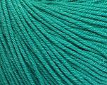 Fiber Content 60% Cotton, 40% Acrylic, Brand Ice Yarns, Emerald Green, Yarn Thickness 2 Fine  Sport, Baby, fnt2-51225