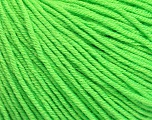 Fiber Content 60% Cotton, 40% Acrylic, Light Green, Brand Ice Yarns, Yarn Thickness 2 Fine  Sport, Baby, fnt2-51227