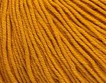 Fiber Content 60% Cotton, 40% Acrylic, Brand Ice Yarns, Gold, Yarn Thickness 2 Fine  Sport, Baby, fnt2-51231