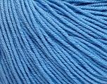 Fiber Content 60% Cotton, 40% Acrylic, Light Blue, Brand Ice Yarns, Yarn Thickness 2 Fine  Sport, Baby, fnt2-51236