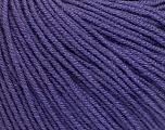Fiber Content 60% Cotton, 40% Acrylic, Purple, Brand Ice Yarns, Yarn Thickness 2 Fine  Sport, Baby, fnt2-51240