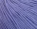 Fiber Content 60% Cotton, 40% Acrylic, Lilac, Brand Ice Yarns, Yarn Thickness 2 Fine  Sport, Baby, fnt2-51241