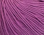 Fiber Content 60% Cotton, 40% Acrylic, Lavender, Brand Ice Yarns, Yarn Thickness 2 Fine  Sport, Baby, fnt2-51242