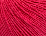Fiber Content 60% Cotton, 40% Acrylic, Brand Ice Yarns, Fuchsia, Yarn Thickness 2 Fine  Sport, Baby, fnt2-51244