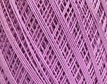 Ne: 10/3 Nm: 17/3 Fiber Content 100% Mercerised Cotton, Lilac, Brand ICE, Yarn Thickness 1 SuperFine  Sock, Fingering, Baby, fnt2-51249