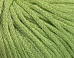 Fiber Content 68% Acrylic, 32% Polyamide, Light Green, Brand Ice Yarns, Yarn Thickness 4 Medium  Worsted, Afghan, Aran, fnt2-51386
