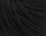 Fiber Content 50% Wool, 50% Acrylic, Brand ICE, Black, Yarn Thickness 4 Medium  Worsted, Afghan, Aran, fnt2-51389