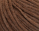 Fiber Content 50% Acrylic, 50% Wool, Brand ICE, Brown Melange, Yarn Thickness 4 Medium  Worsted, Afghan, Aran, fnt2-51393