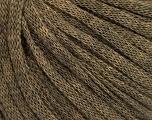 Fiber Content 50% Wool, 50% Acrylic, Brand ICE, Camel Melange, Yarn Thickness 4 Medium  Worsted, Afghan, Aran, fnt2-51402