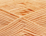 Fiber Content 55% Cotton, 45% Acrylic, Light Salmon, Brand Ice Yarns, Yarn Thickness 4 Medium  Worsted, Afghan, Aran, fnt2-51432