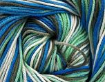 Fiber Content 100% Cotton, White, Mint Green, Khaki, Brand Ice Yarns, Blue, Yarn Thickness 2 Fine  Sport, Baby, fnt2-51437