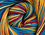 Fiber Content 100% Cotton, Rainbow, Brand Ice Yarns, Yarn Thickness 2 Fine  Sport, Baby, fnt2-51439