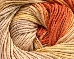Fiber Content 100% Cotton, Yellow, Orange, Brand Ice Yarns, Cream, Beige, Yarn Thickness 2 Fine  Sport, Baby, fnt2-51441