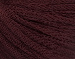 Fiber Content 50% Wool, 50% Acrylic, Maroon, Brand ICE, Yarn Thickness 4 Medium  Worsted, Afghan, Aran, fnt2-51468
