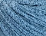 Fiber Content 50% Wool, 50% Acrylic, Light Blue, Brand Ice Yarns, Yarn Thickness 4 Medium  Worsted, Afghan, Aran, fnt2-51470
