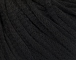 Fiber Content 50% Wool, 50% Acrylic, Brand Ice Yarns, Black, Yarn Thickness 4 Medium  Worsted, Afghan, Aran, fnt2-51482