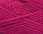 SuperBulky  Fiber Content 55% Acrylic, 45% Wool, Brand Ice Yarns, Fuchsia, Yarn Thickness 6 SuperBulky  Bulky, Roving, fnt2-51489