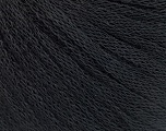 Fiber Content 50% Wool, 50% Acrylic, Brand Ice Yarns, Black, Yarn Thickness 4 Medium  Worsted, Afghan, Aran, fnt2-51491