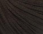 Fiber Content 50% Wool, 50% Acrylic, Brand ICE, Coffee Brown, Yarn Thickness 4 Medium  Worsted, Afghan, Aran, fnt2-51493