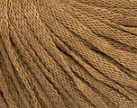 Fiber Content 50% Wool, 50% Acrylic, Brand ICE, Beige, Yarn Thickness 4 Medium  Worsted, Afghan, Aran, fnt2-51496