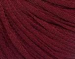 Fiber Content 50% Wool, 50% Acrylic, Brand Ice Yarns, Burgundy, Yarn Thickness 4 Medium  Worsted, Afghan, Aran, fnt2-51499