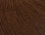 Fiber Content 60% Cotton, 40% Acrylic, Brand Ice Yarns, Dark Brown, Yarn Thickness 2 Fine  Sport, Baby, fnt2-51513