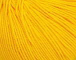 Fiber Content 60% Cotton, 40% Acrylic, Yellow, Brand Ice Yarns, Yarn Thickness 2 Fine  Sport, Baby, fnt2-51514